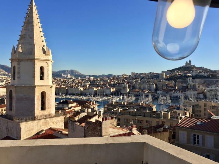 La plus belle terrasse de Marseille !