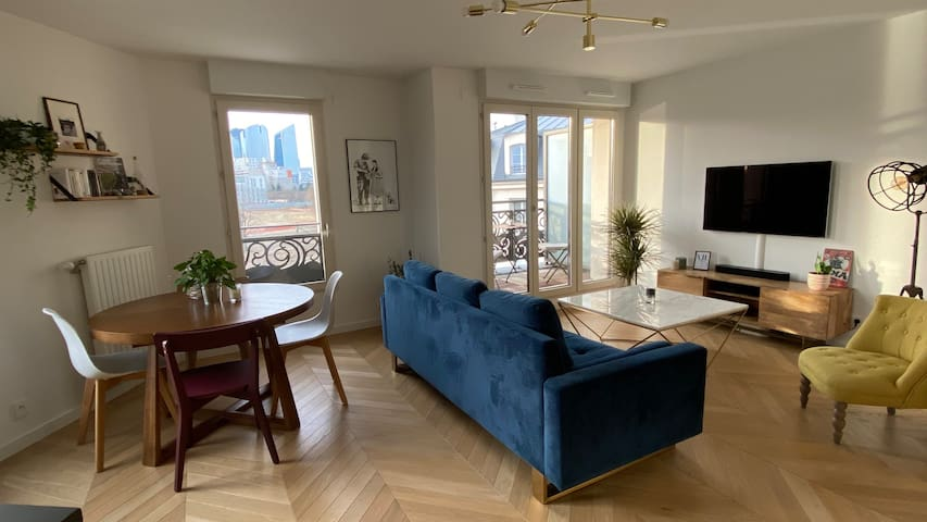 Very nice flat close to Paris Defense Arena 92