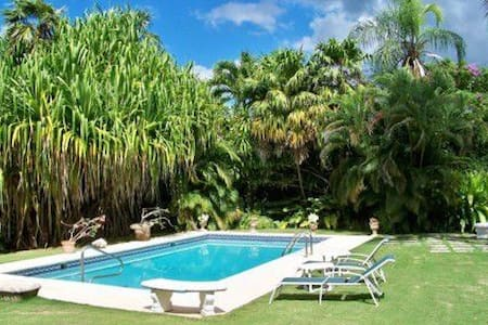 Charming Villa on Old Nine Sandy Lane Golf Course - Holetown