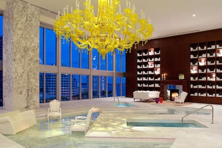 Luxurious Ocean View Condo At The W Hotel - Miami - Lejlighed