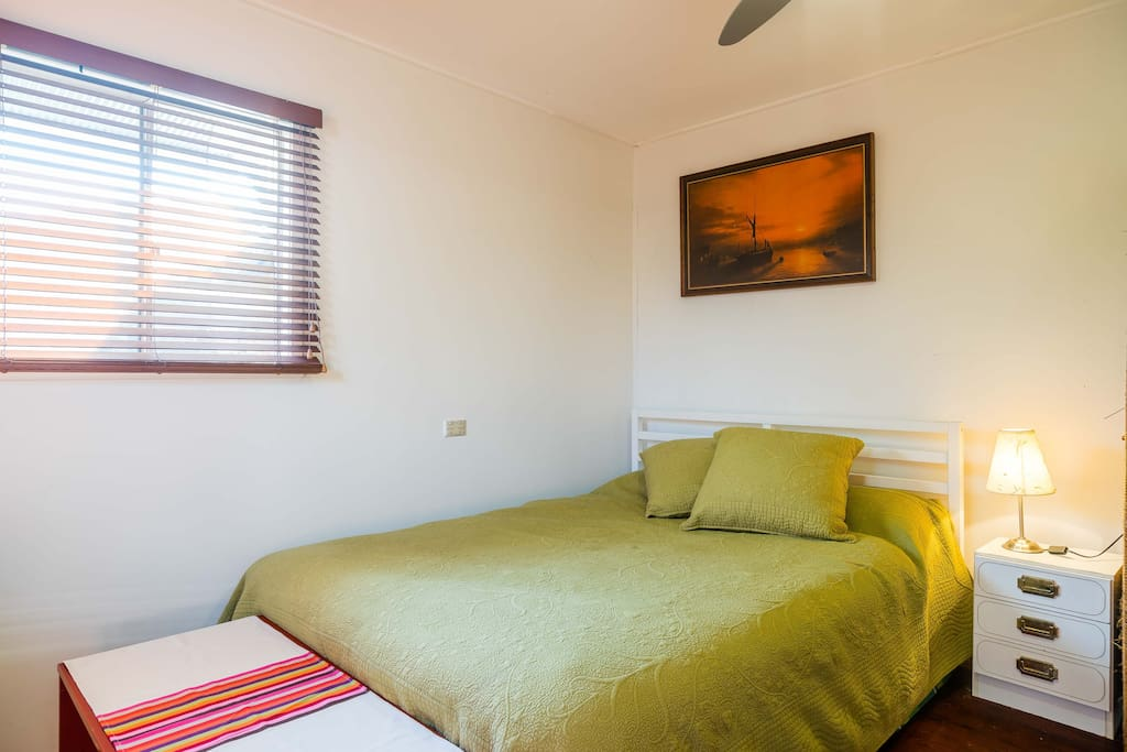 Double bed, all linen provided