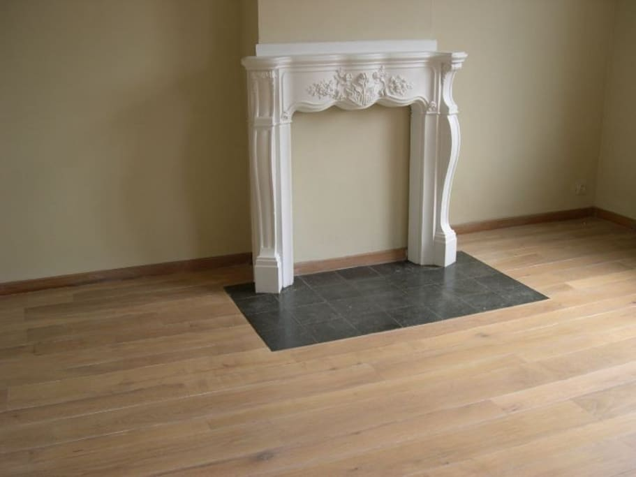 Leefruimte - er staan nu wél meubels in :-)