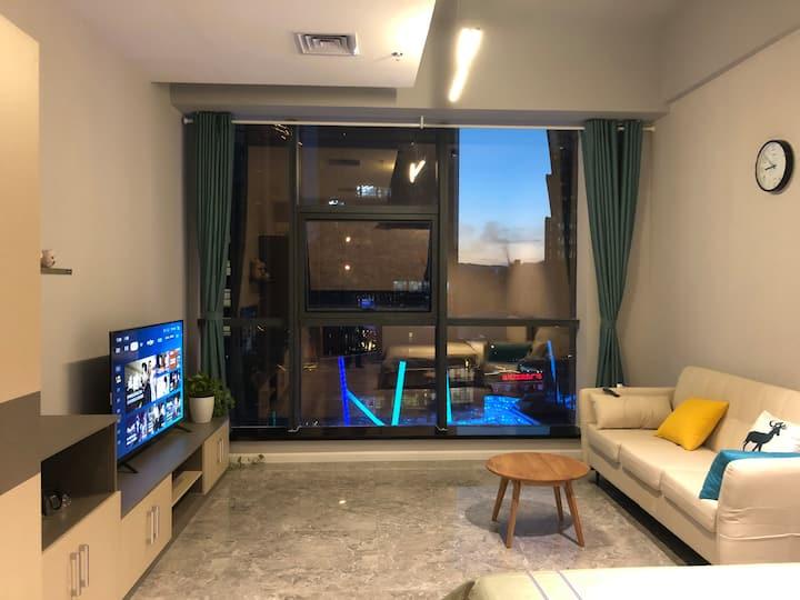 唐道637|公寓|民宿|自助入住|万达|几何书城|大象城|新华联|青海歌剧院|科技馆体育(内宾)