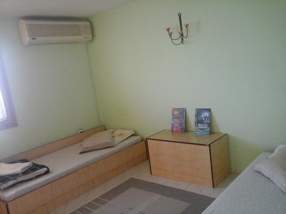 Double room with airconditioner
