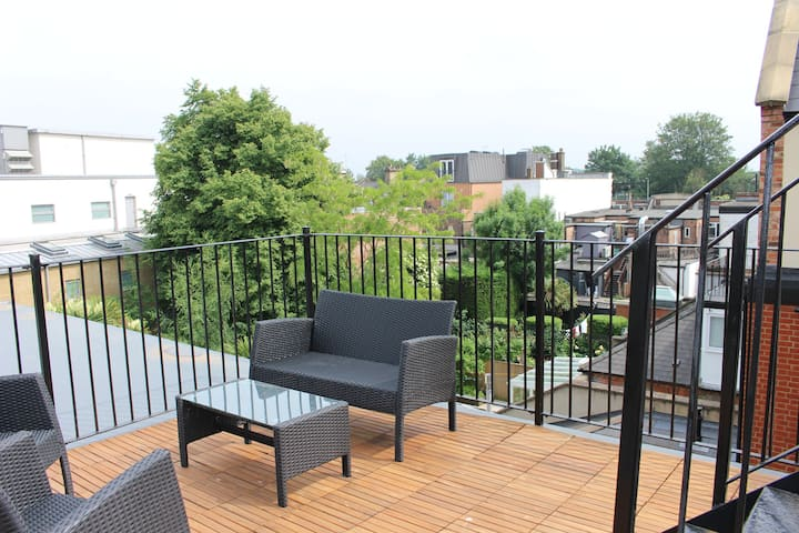 Stunning Loft 2BR 2.5BA with Roof Terrace!