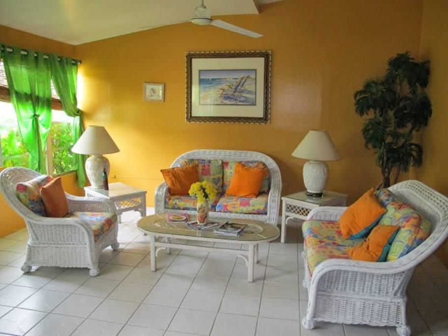 Common lounge area on ground floor