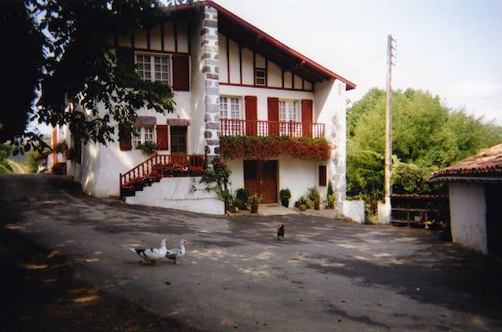 Gîte dans une ferme basque - Saint-Esteben - Apartmen