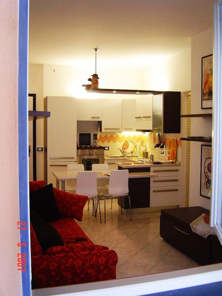 Appartamento fronte mare. Un passo dalle 5 terre