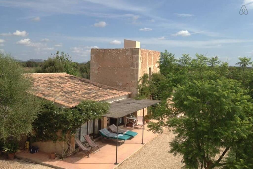 Viejo molino con porche / Old watermill with terrace