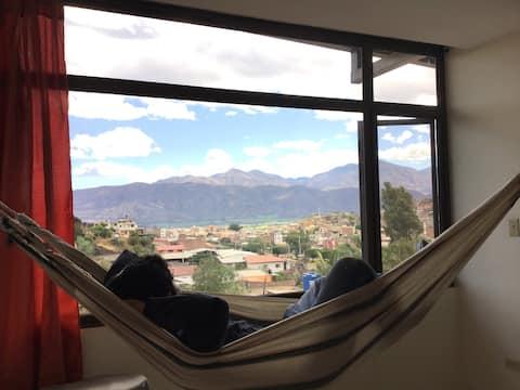 En Catamayo cómodo Departamento con Bonita Vista