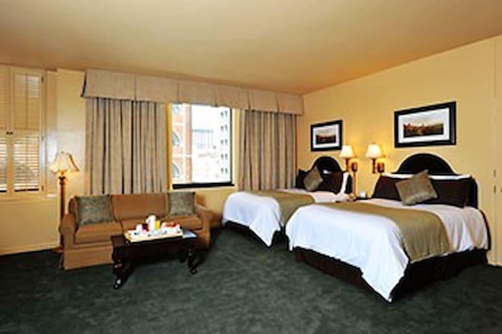 Elegant Union Square hotel room