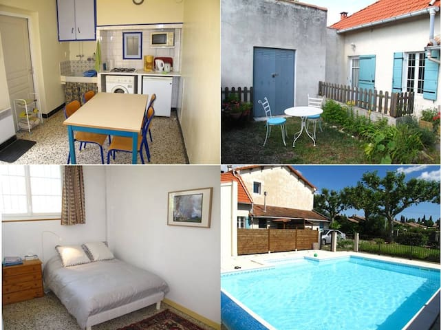 Appartement indépendant dans un mas - Saint-Andiol - Apartamento