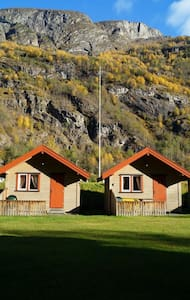 Cabin 1 - Aurland Valley - sleeps 4 - Aurland - Blockhütte
