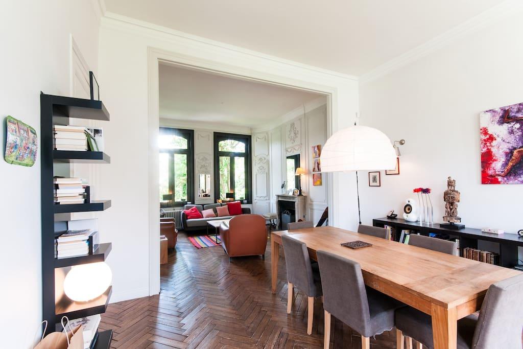magnifique maison ancienne lille maisons louer mouvaux nord pas de calais france. Black Bedroom Furniture Sets. Home Design Ideas