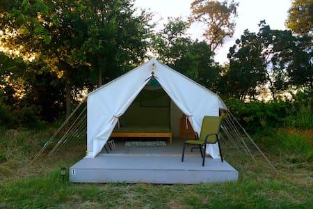 Modern Farmstay- Tent #1 - Cedar Creek