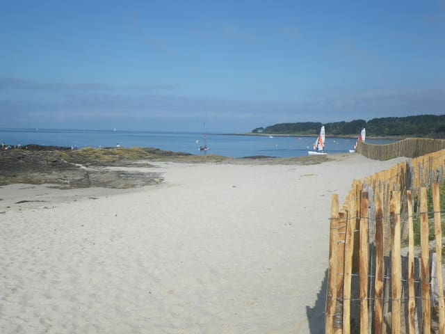 Ty Heol 100m plage, design confort- gîtes de Rhuys