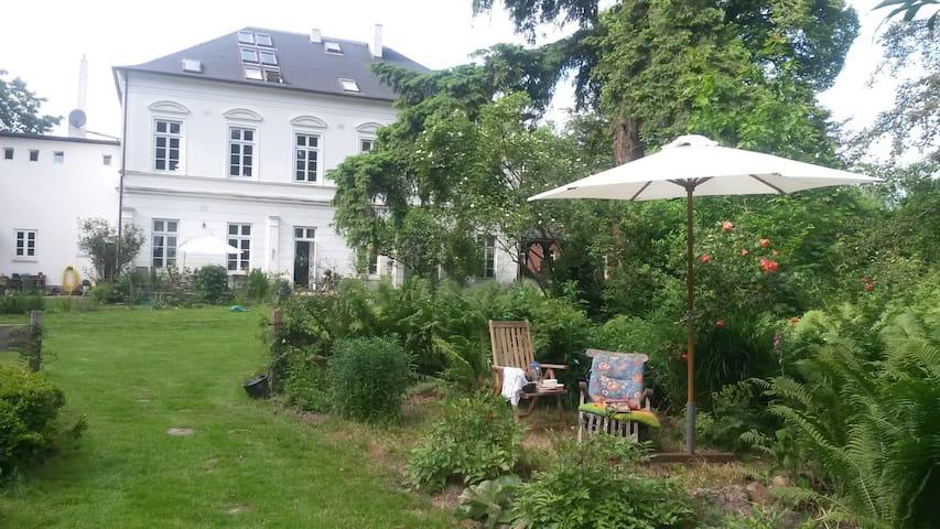 Ferienwohnung in alter Landvilla - Beverstedt - 별장/타운하우스