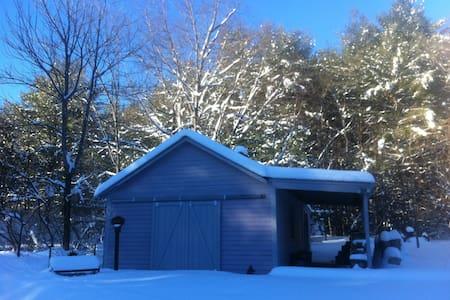 Simple Adirondack Farmhouse - Hadley