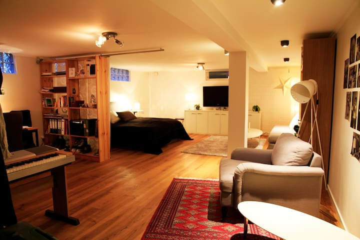 Basement apartment in a nice area - Uppsala - Apartment