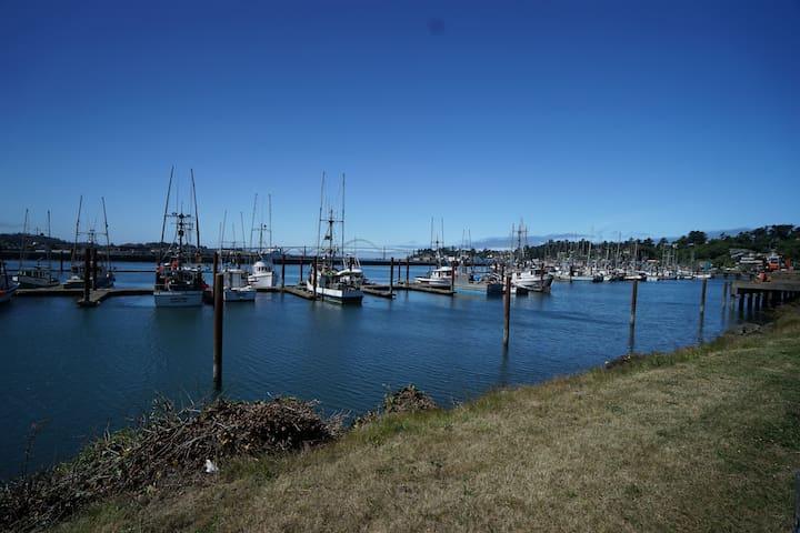 Newport's bayfront