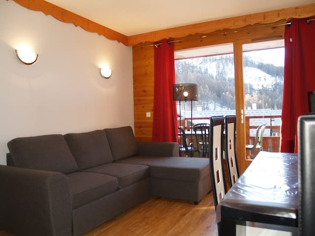 Appart 6 pers, balcon, piscine - Puy-Saint-Vincent - Apartment