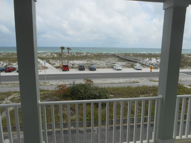 Wake up to Beach View from Inside Master Bedroom