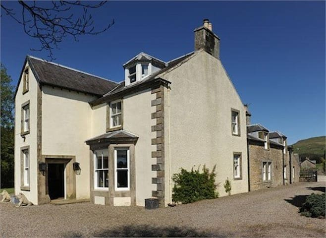 Abbotshaw House - Farm B&B - Newcastleton - Bed & Breakfast