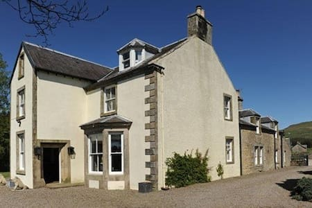 Abbotshaw House - Farm B&B - Newcastleton - Bed & Breakfast