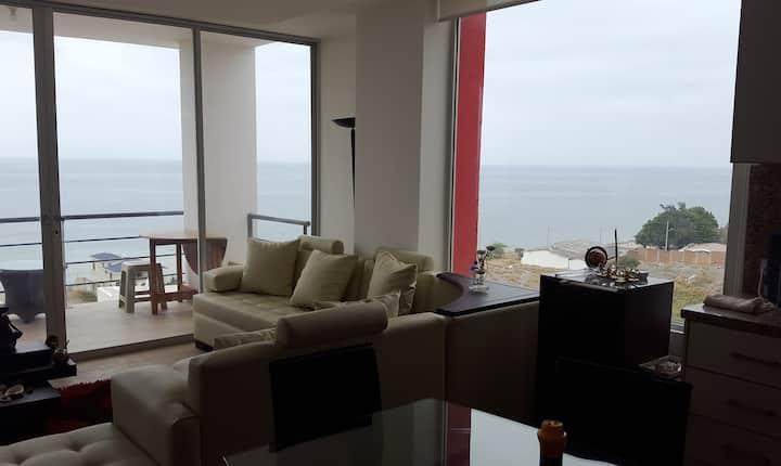 """Espectacular Penthouse frente al mar"""
