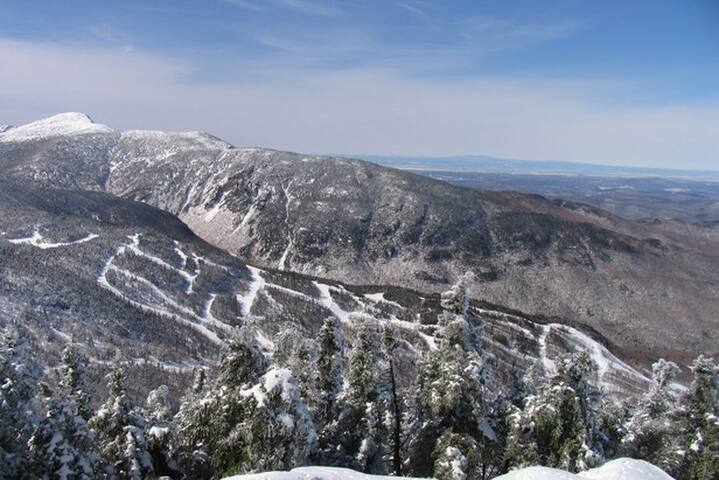 Smuggs with Mt Mansfield in the background
