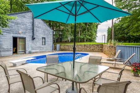 Pool Cottage at Blue Mountain House - Lynchburg - Lejlighed