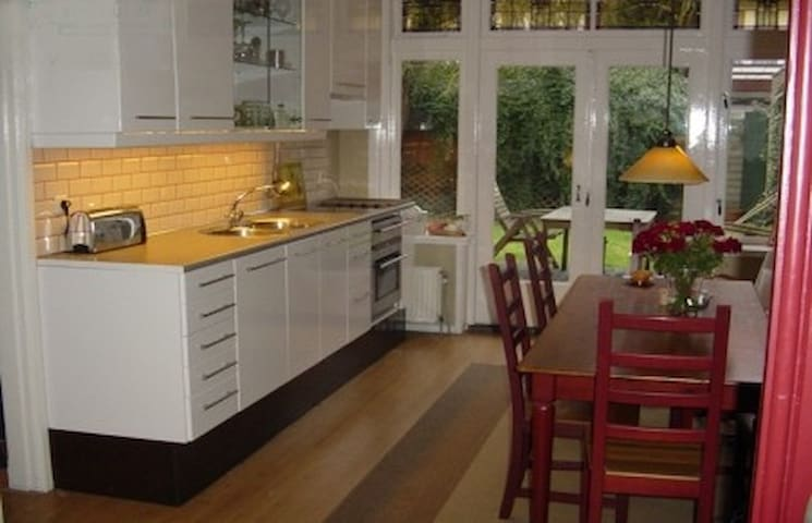 Benedenwoning met grote tuin - Haarlem - Appartement
