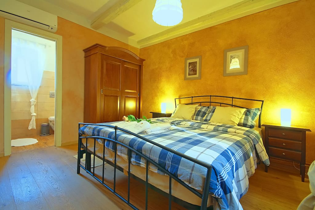 Casa Rea, The bedroom villa
