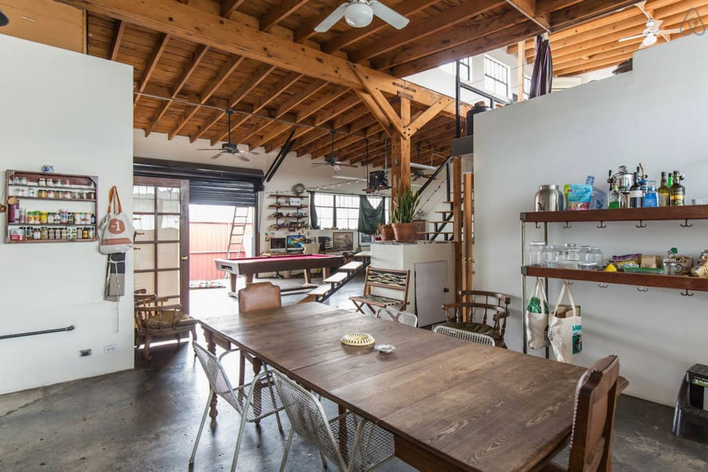 live work space sublease lofts for rent in los angeles california united states. Black Bedroom Furniture Sets. Home Design Ideas