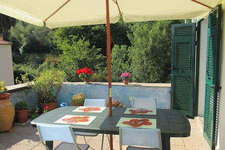 Rustique Ligurian Apartment - Imperia - Daire