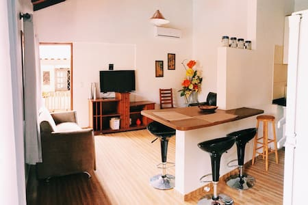 PRIVATE STUDIO with pool & 5 min from the center