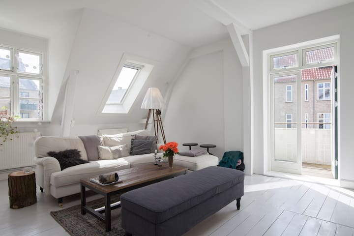 Modern, luxurious 3 BR penthouse - Copenhagen - Apartment