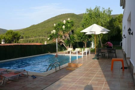 Habitación triple cerca Barcelona piscina playa - Gavà - บ้าน