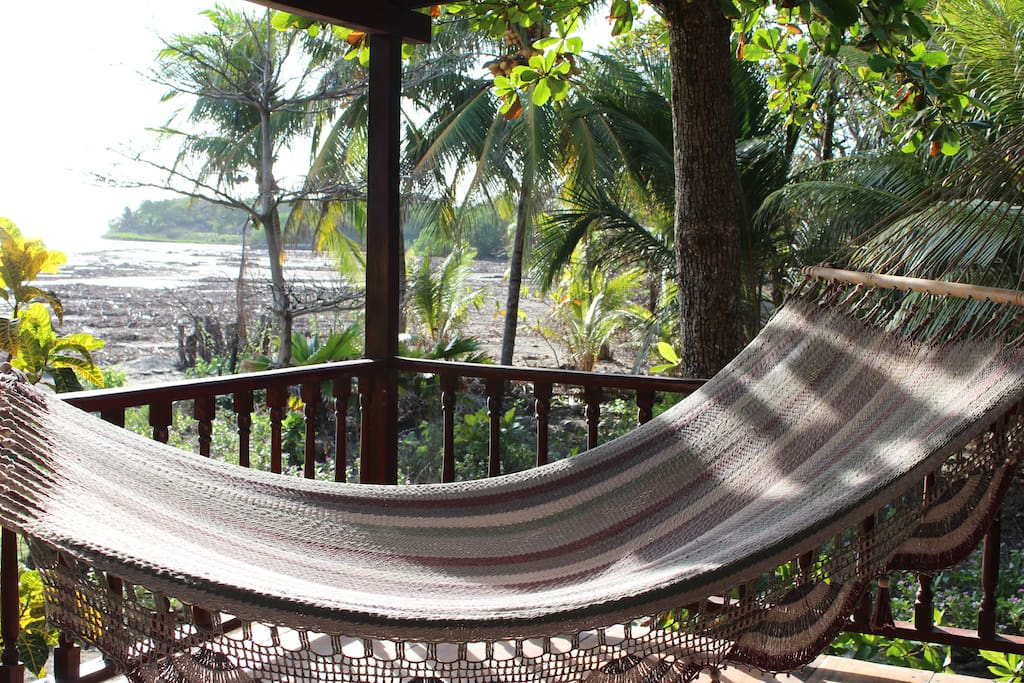 Watch the sunseet from your hammock.