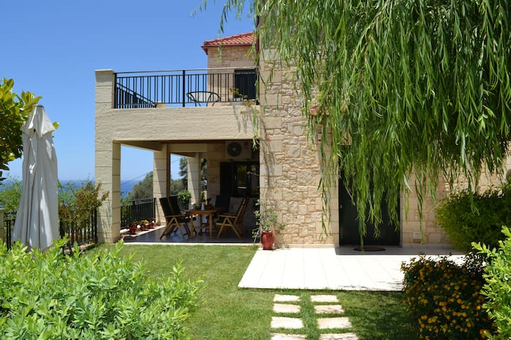 Villa Klio with sea view and  pool