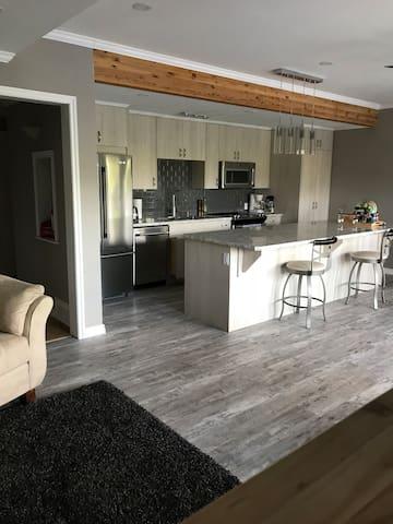 Beautiful custom built kitchen