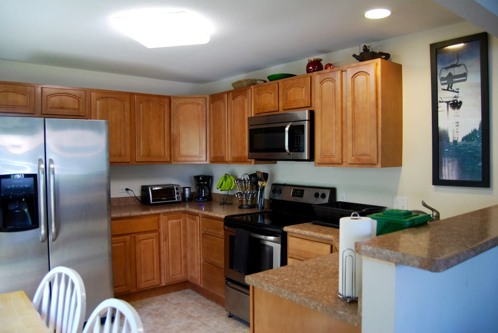 Guests will have full access to the kitchen.
