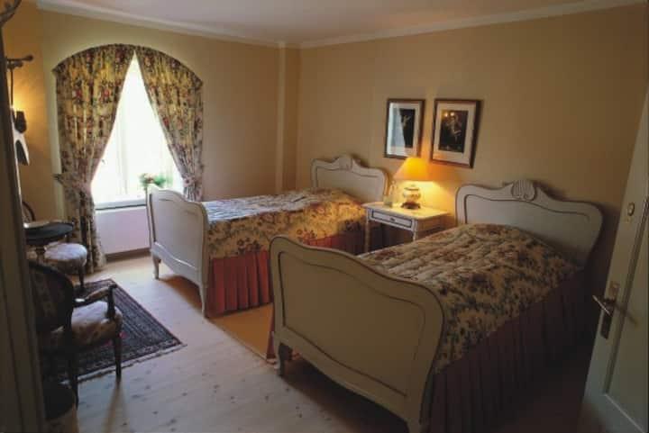 Hannibals room at Broholm Castle