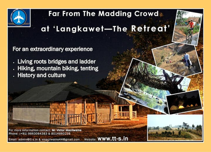 LANGKAWET THE RETREAT. Far From The Madding Crowd
