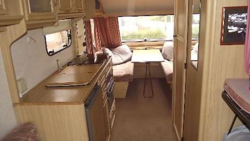 Exclusive use of caravan, & parking - Bristol