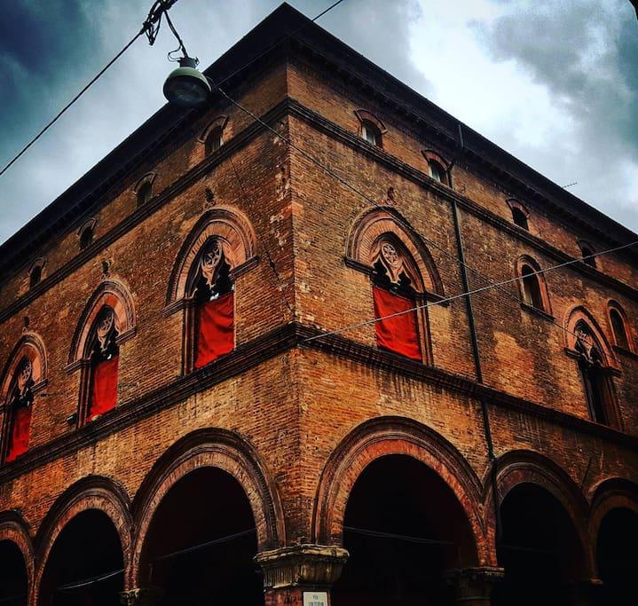 facciata del palazzo