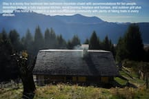 Beautiful Swiss Mountain Chalet (Back)