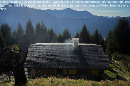 Beautiful Swiss Mountain Chalet - Monte Carasso - スイス式シャレー