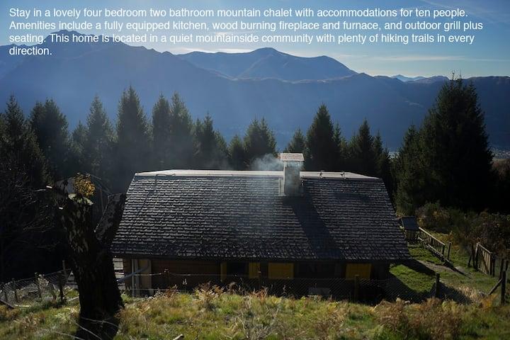 Beautiful Swiss Mountain Chalet