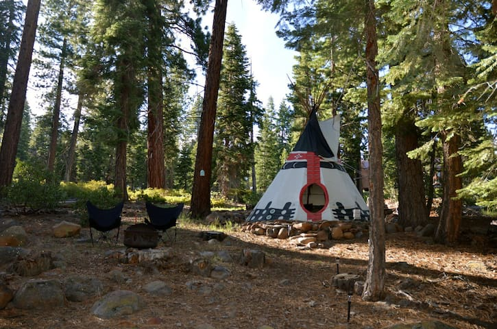 Fabulous Private Tipi @ Lake Tahoe! - Carnelian Bay